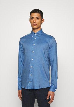 Slim Fit - Cotton-Tencel Shirt  - Shirt - blue