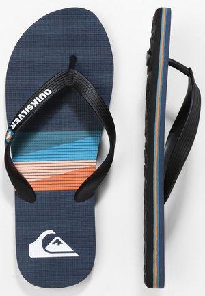 MOLOKAI SEASONS  - Pool shoes - black/blue/blue