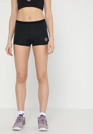 KIERA TECH - Sports shorts - black