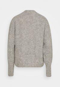 American Vintage - EAST - Cardigan - gris chine - 1