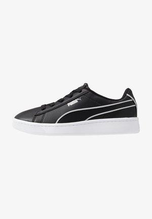 VIKKY - Slip-ins - black/silver/white