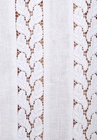MICHAEL Michael Kors - STRIPED ROPE MINI DRESS - Day dress - white - 7
