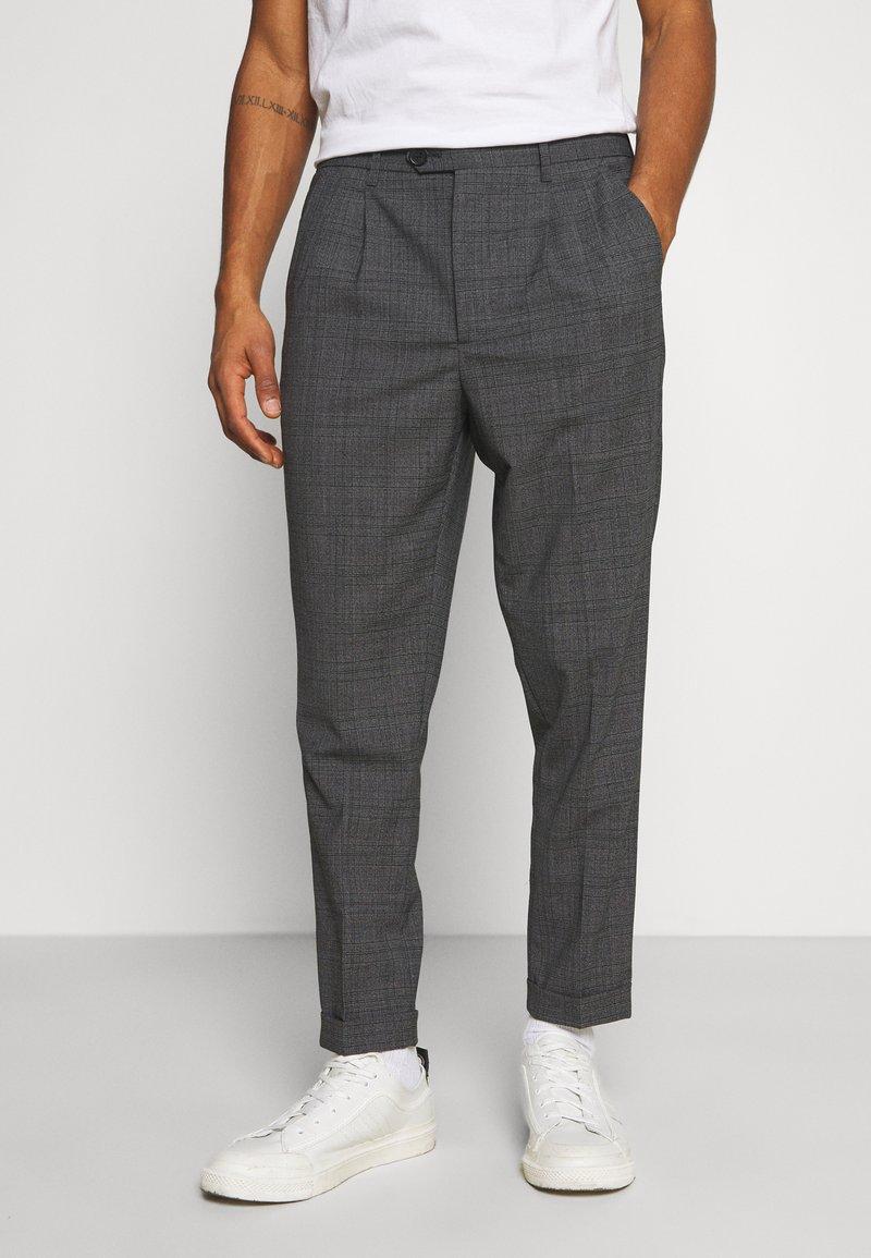 AllSaints - BATALHA TROUSER - Trousers - charcoal