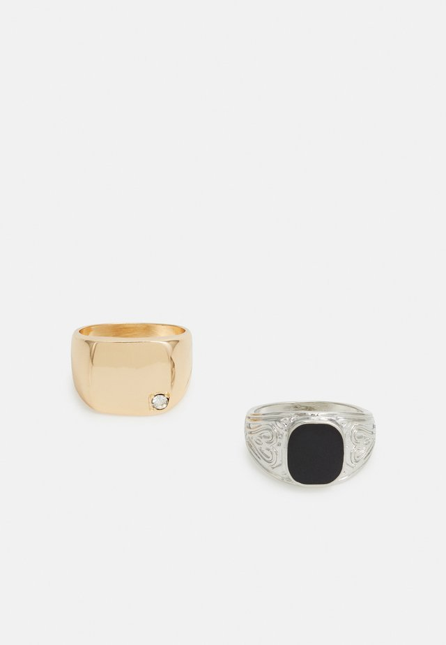 2 PACK - Ring - silver-coloured/gold-coloured