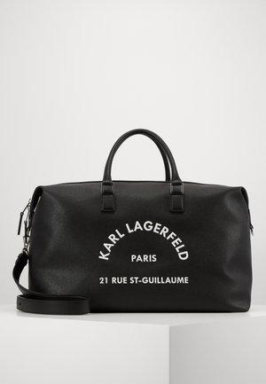 RUE ST GUILLAUME - Weekend bag - black