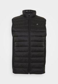LIGHT WEIGHT SIDE LOGO VEST - Waistcoat - black