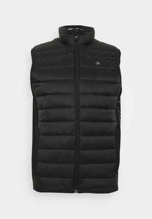 LIGHT WEIGHT SIDE LOGO VEST - Liivi - black