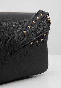 Missguided - STUD DETAIL SHOULDER BAG - Handbag - black - 6