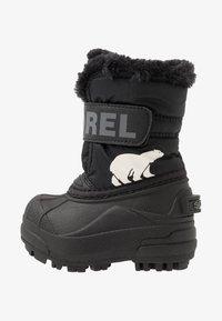 Sorel - CHILDRENS - Zimní obuv - black/charcoal - 1