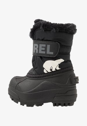 CHILDRENS - Botas para la nieve - black/charcoal