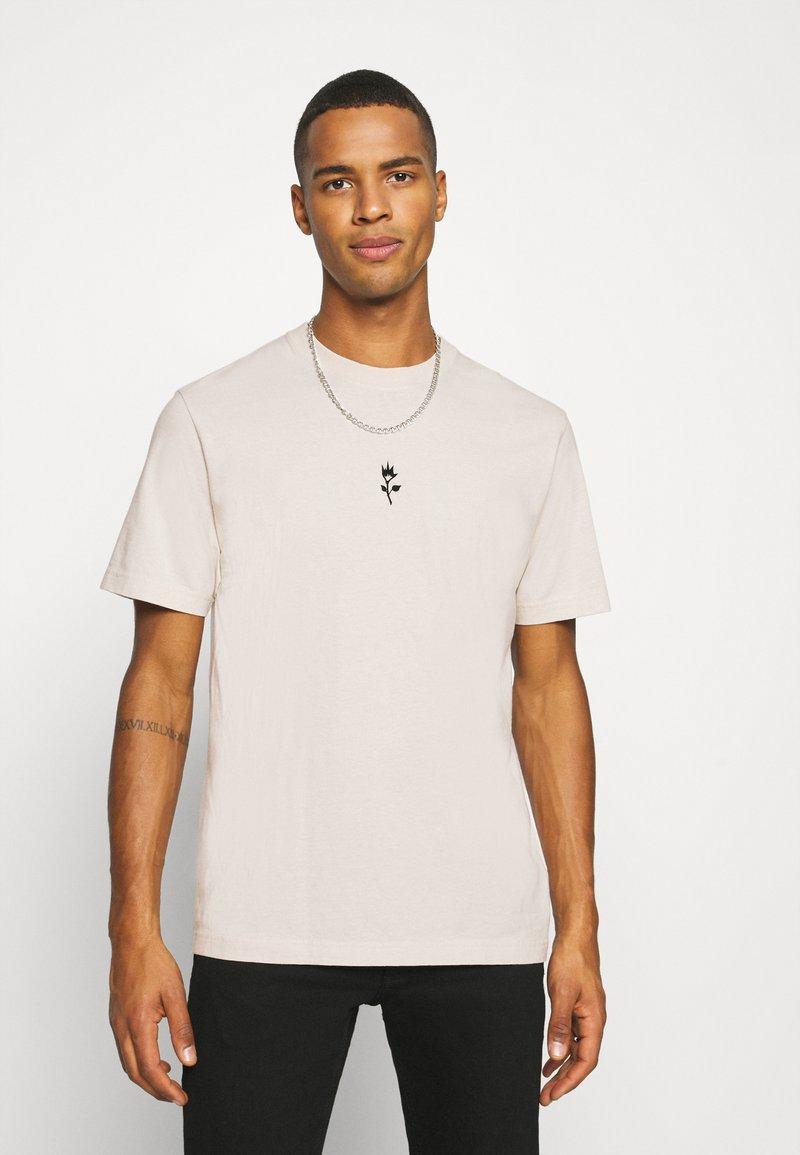 Afends - LEGACY RETRO FIT TEE - Print T-shirt - moonbeam