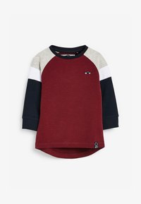 Next - COSY COLOURBLOCK - Long sleeved top - red - 0