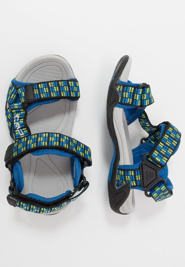 KIDS HAMAL HIKING  - Walking sandals - zaffiro