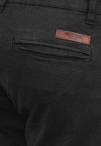 INDICODE JEANS - CARGOHOSE BROMFIELD - Cargobroek - black - 4