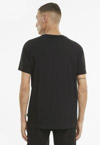 Puma - ESS SMALL LOGO TEE - Basic T-shirt - mottled anthracite - 2
