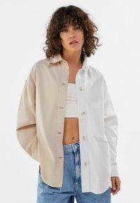 Bershka - Summer jacket - stone - 0