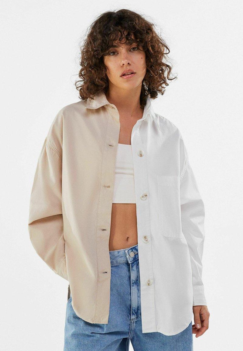Bershka - Summer jacket - stone
