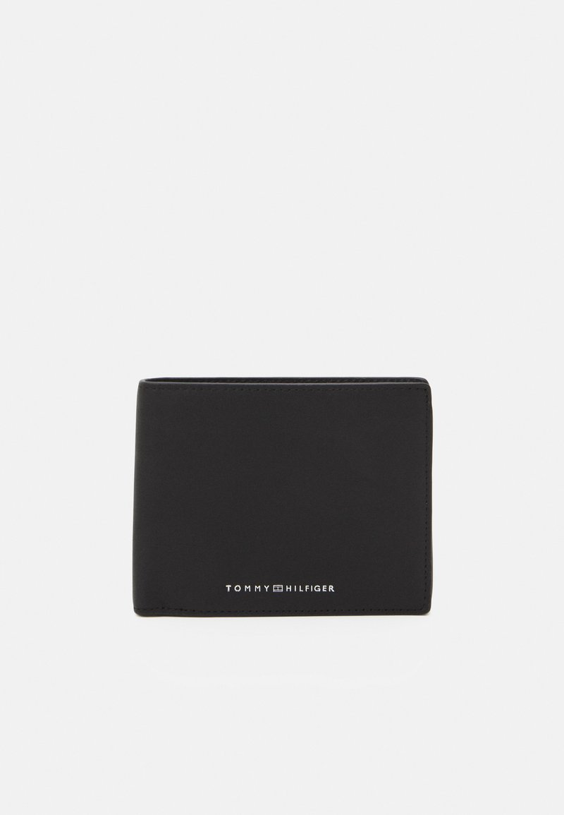 Tommy Hilfiger - FLAP AND COIN - Lompakko - black