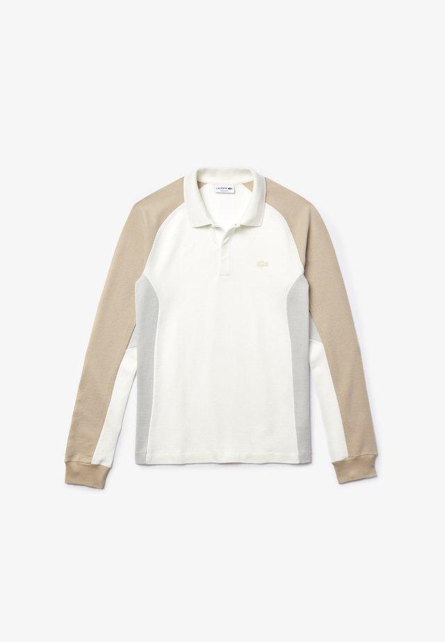PH5050 - Polo shirt - blanc / gris / beige