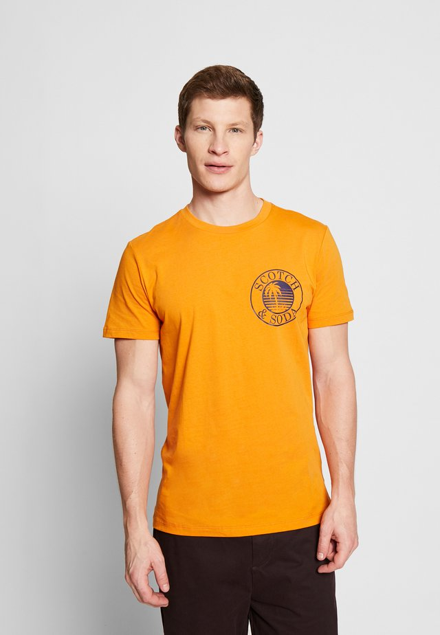 Camiseta estampada - ginger