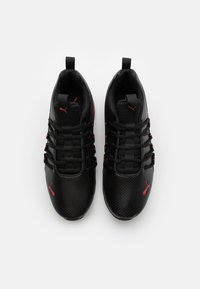 Puma - AXELION - Scarpe da fitness - black/high risk red - 3