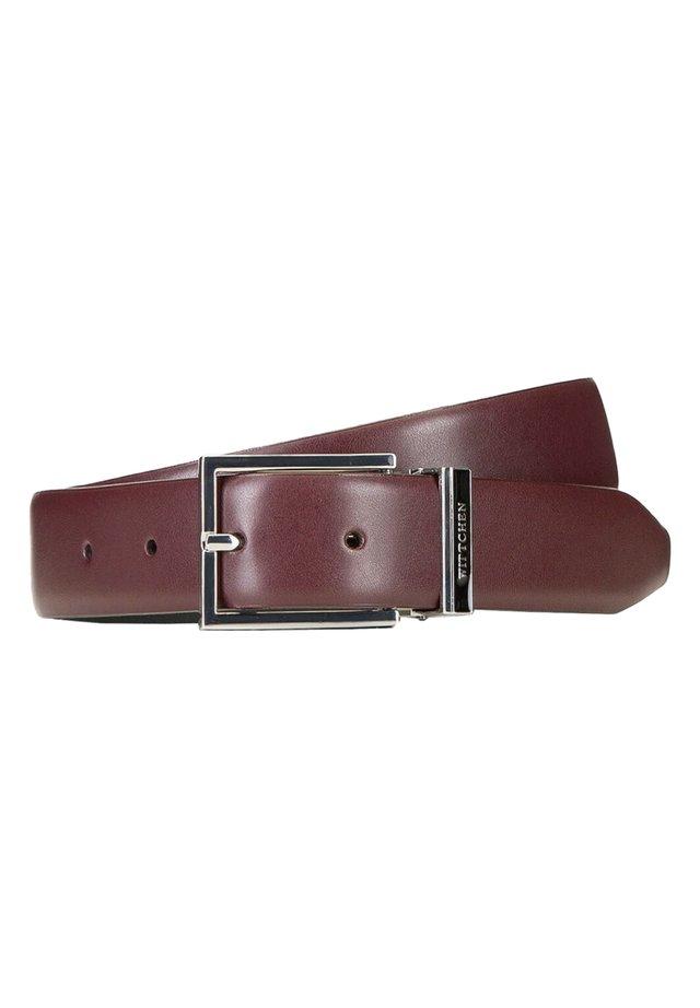 Belt - burgund