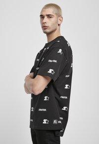 Starter - T-shirt imprimé - black - 4