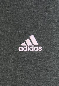 adidas Performance - Pantaloni sportivi - grey/pink - 6