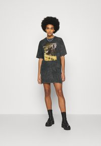 Nly by Nelly - EXTRA TEE DRESS - Jersey dress - grey - 1