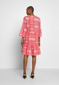 Kaffe - KAPARRIS DRESS - Shirt dress - high risk red - 2