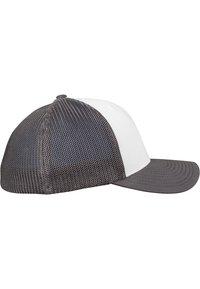 Flexfit - Cap - darkgrey and white - 4