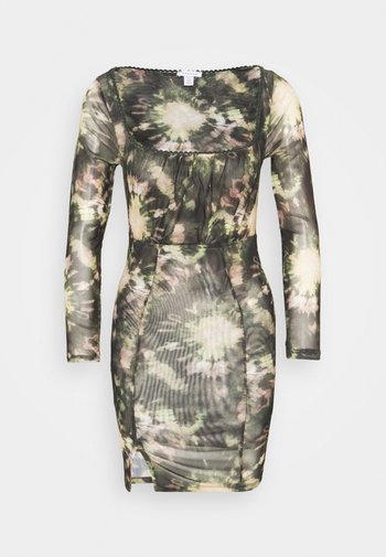 TIE DYE MINI - Shift dress - multi