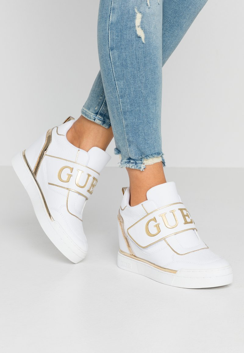 Guess - FOLLIE - Sneakers - white