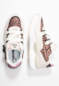 mtng - MAXI - Sneakers - silver/nude - 3