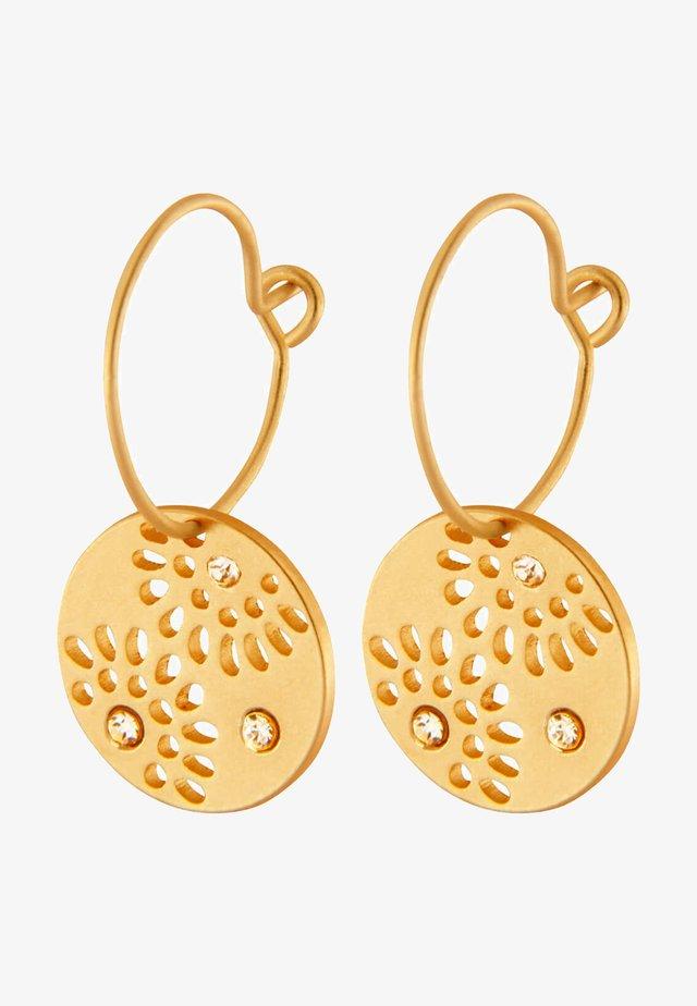 Earrings - gold plating