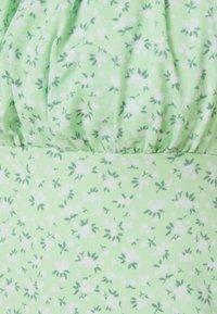 Hollister Co. - BARE DRESS - Jerseykjole - pistachio floral - 2