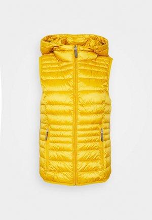 Waistcoat - brass yellow