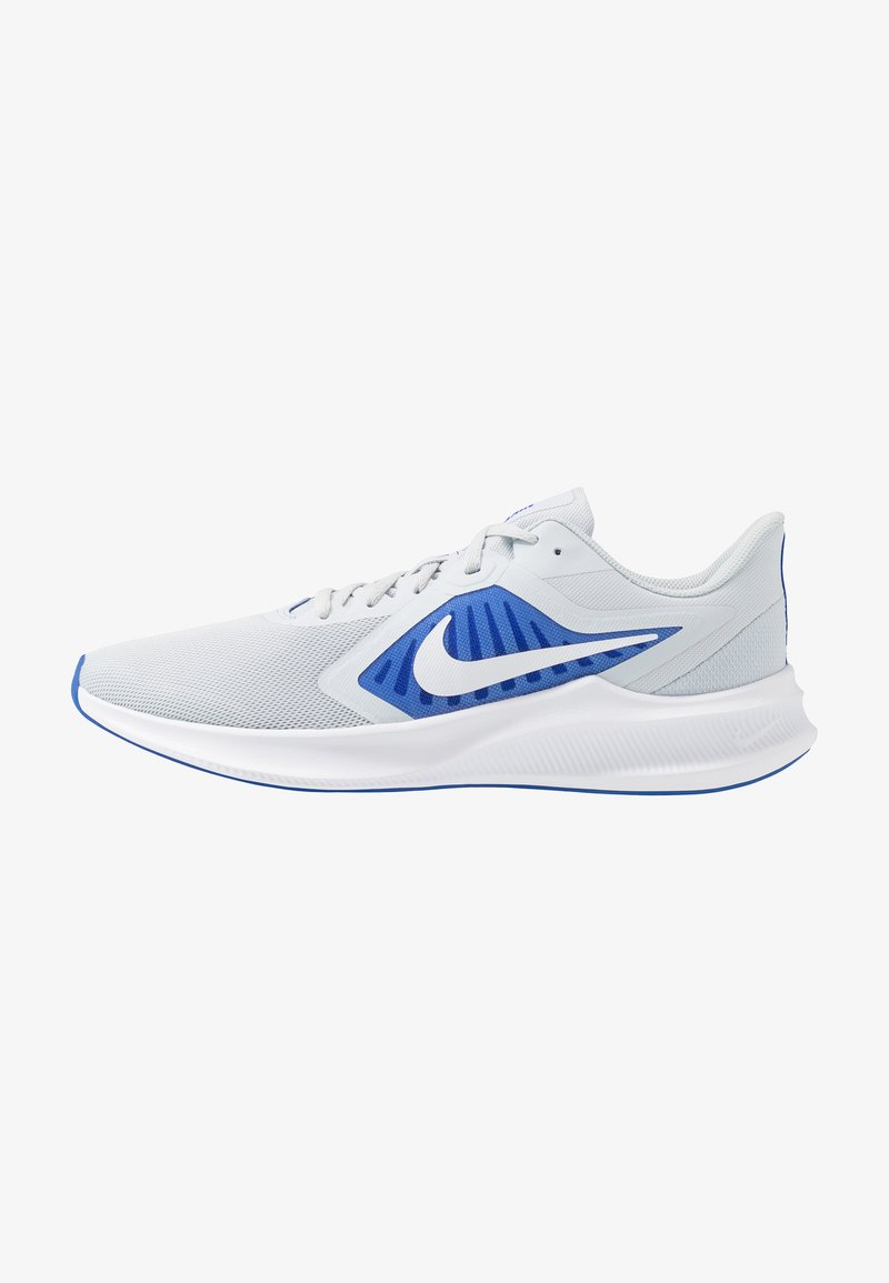 Nike Performance - DOWNSHIFTER 10 - Zapatillas de running neutras - pure platinum/white/hyper royal