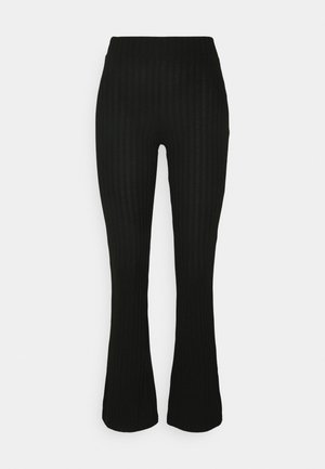 TARA TROUSERS - Stoffhose - black