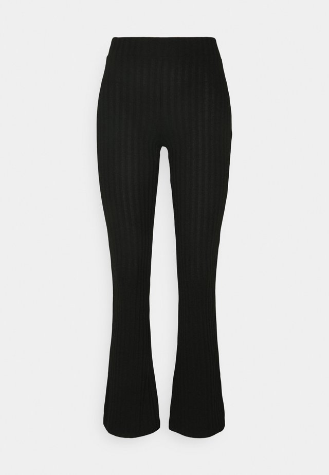 TARA TROUSERS - Bukser - black