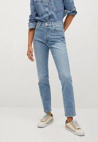 Mango - GISELE - Jeans slim fit - mittelblau - 0