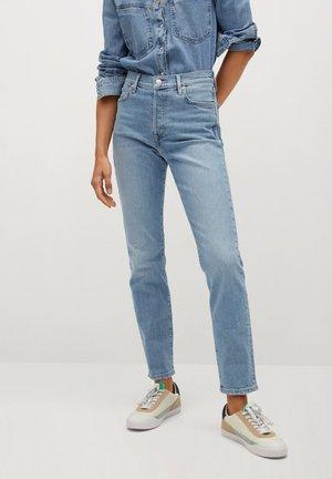 GISELE - Slim fit jeans - mittelblau