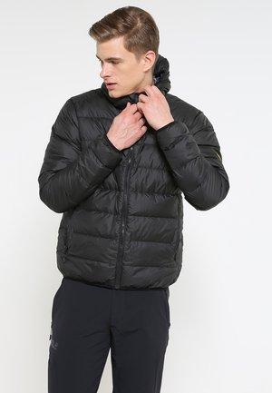 HELIUM MEN - Down jacket - black