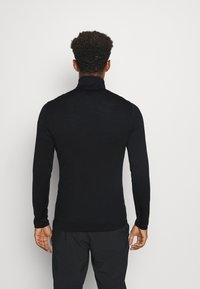 Icebreaker - MENS 260 TECH HALF ZIP - Svetr - black - 2