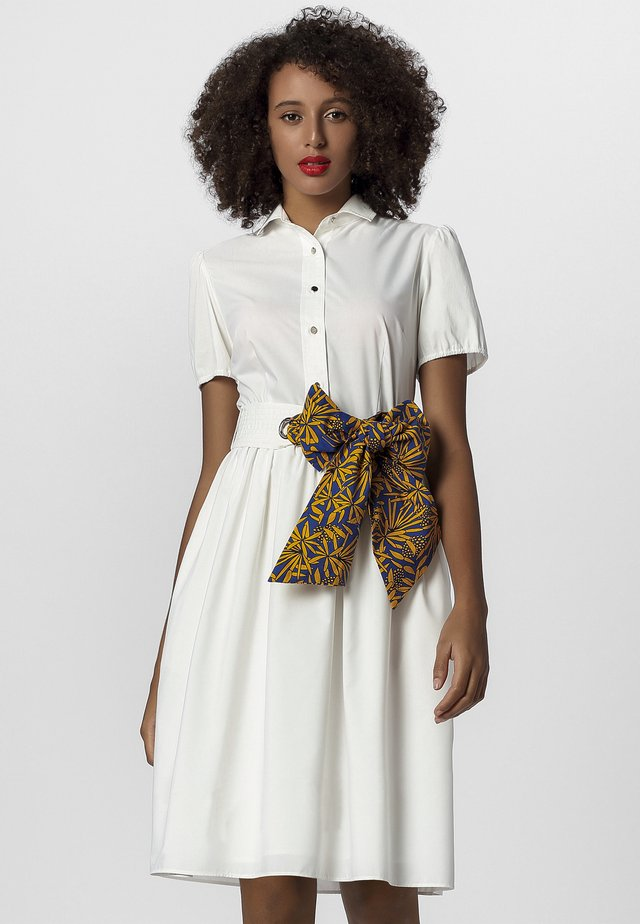 DRESS - Shirt dress - cream