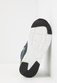 KangaROOS - KX-HYDRO - Sneakersy wysokie - dark navy/lime - 4