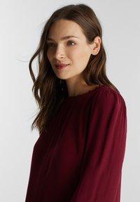Esprit - Denní šaty - bordeaux red - 4