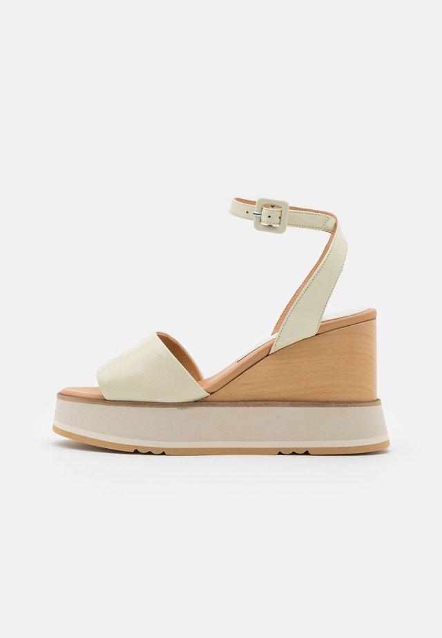 LACO - High heeled sandals - lory panna