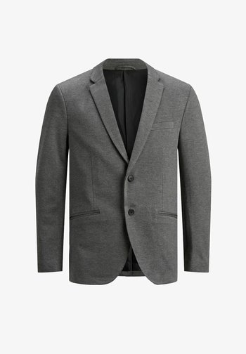 Suit jacket - grey melange