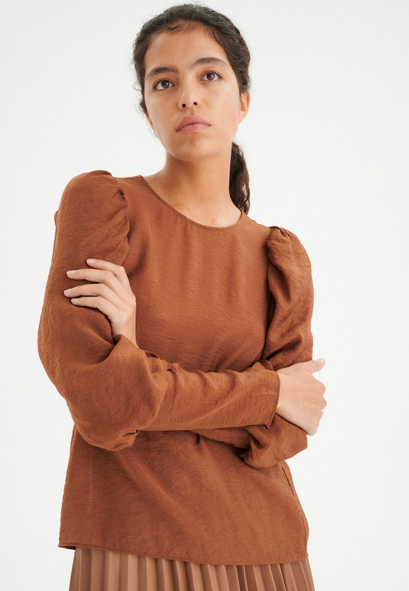InWear - Blouse - spicy brown